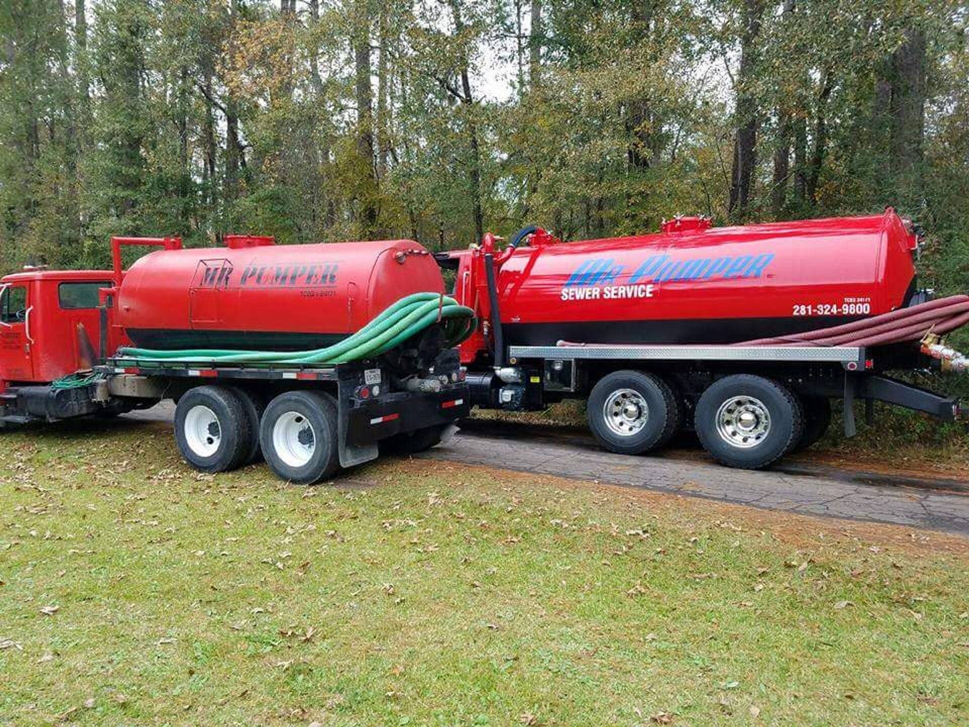 Mr. Pumper's Fleet