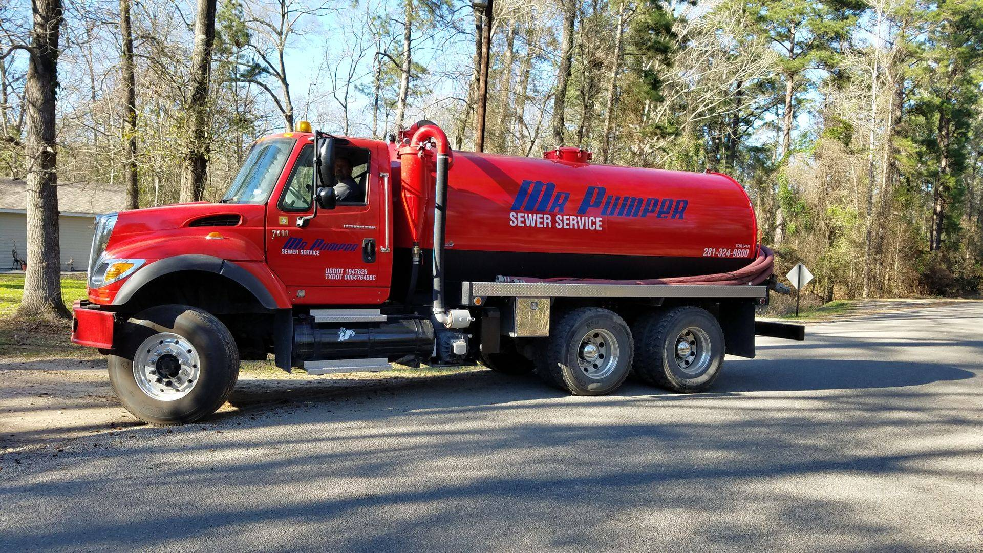 "Mr. Pumper's ""The Big Truck"" Truck"