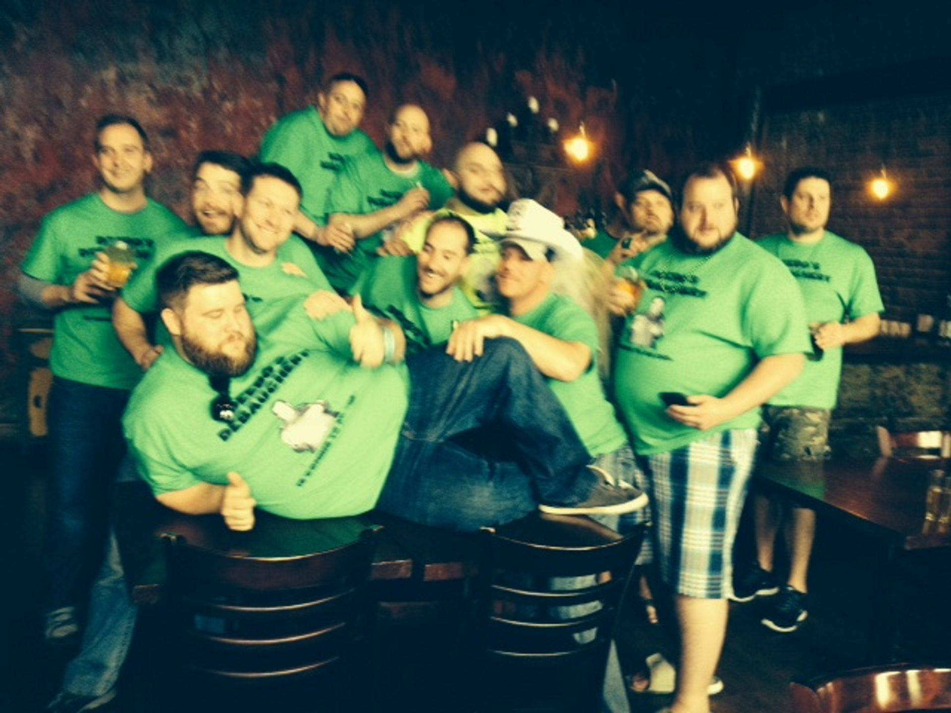 Matt spent his Nashville bachelor party on the Music City Pub Crawl