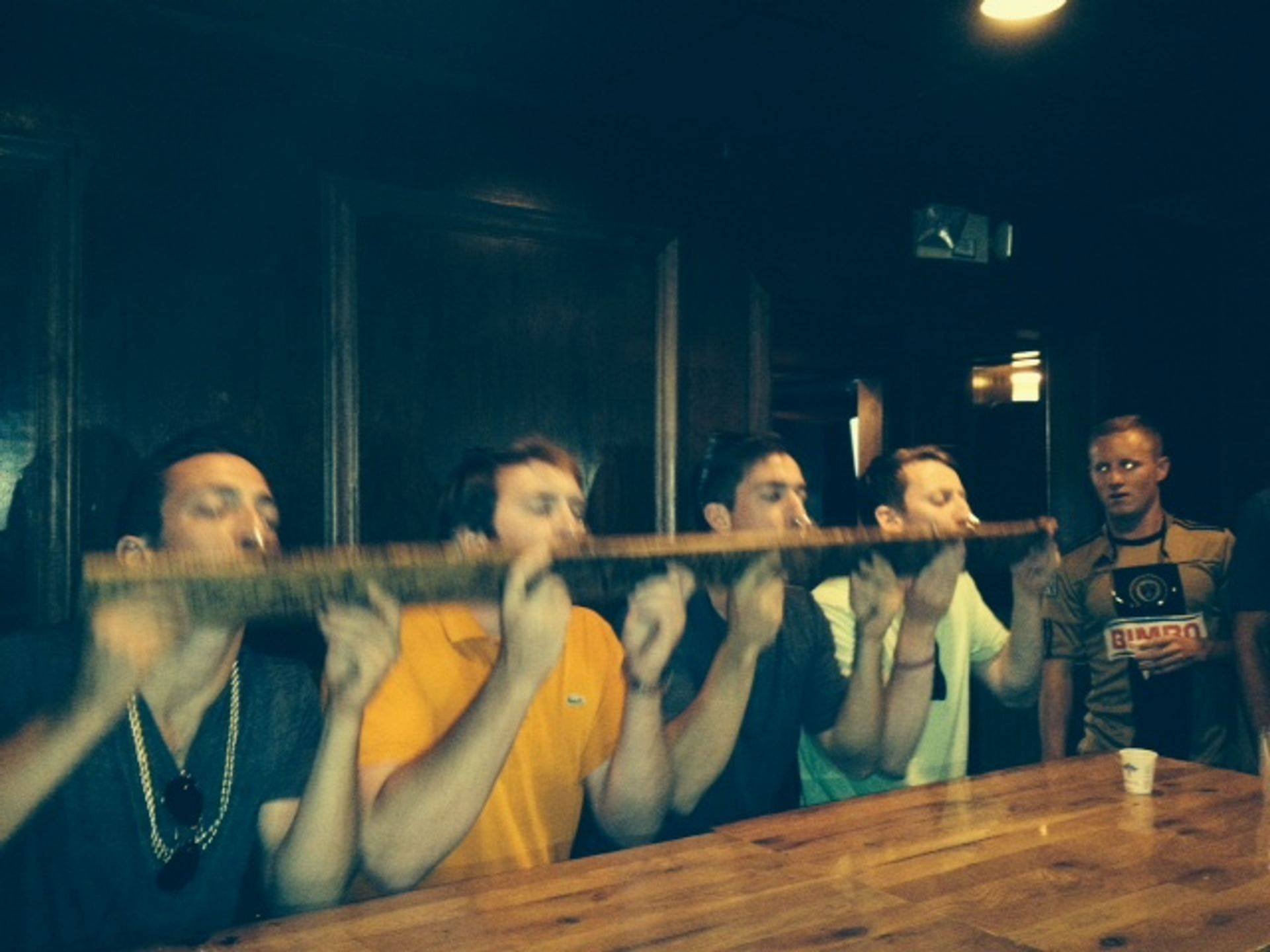 Kevin's Nashville bachelor party tries shotskis