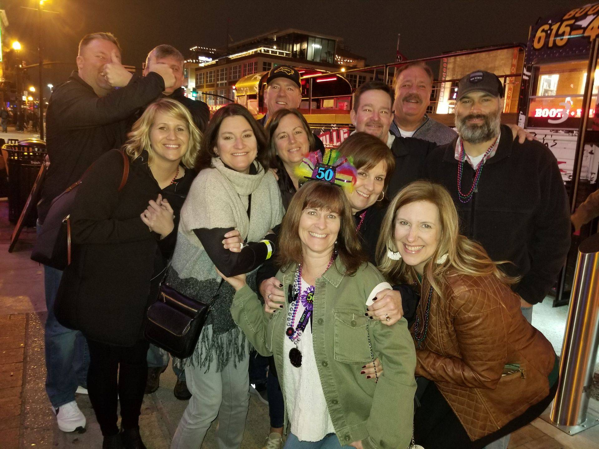 Great group of Canadian travelers to Nashville