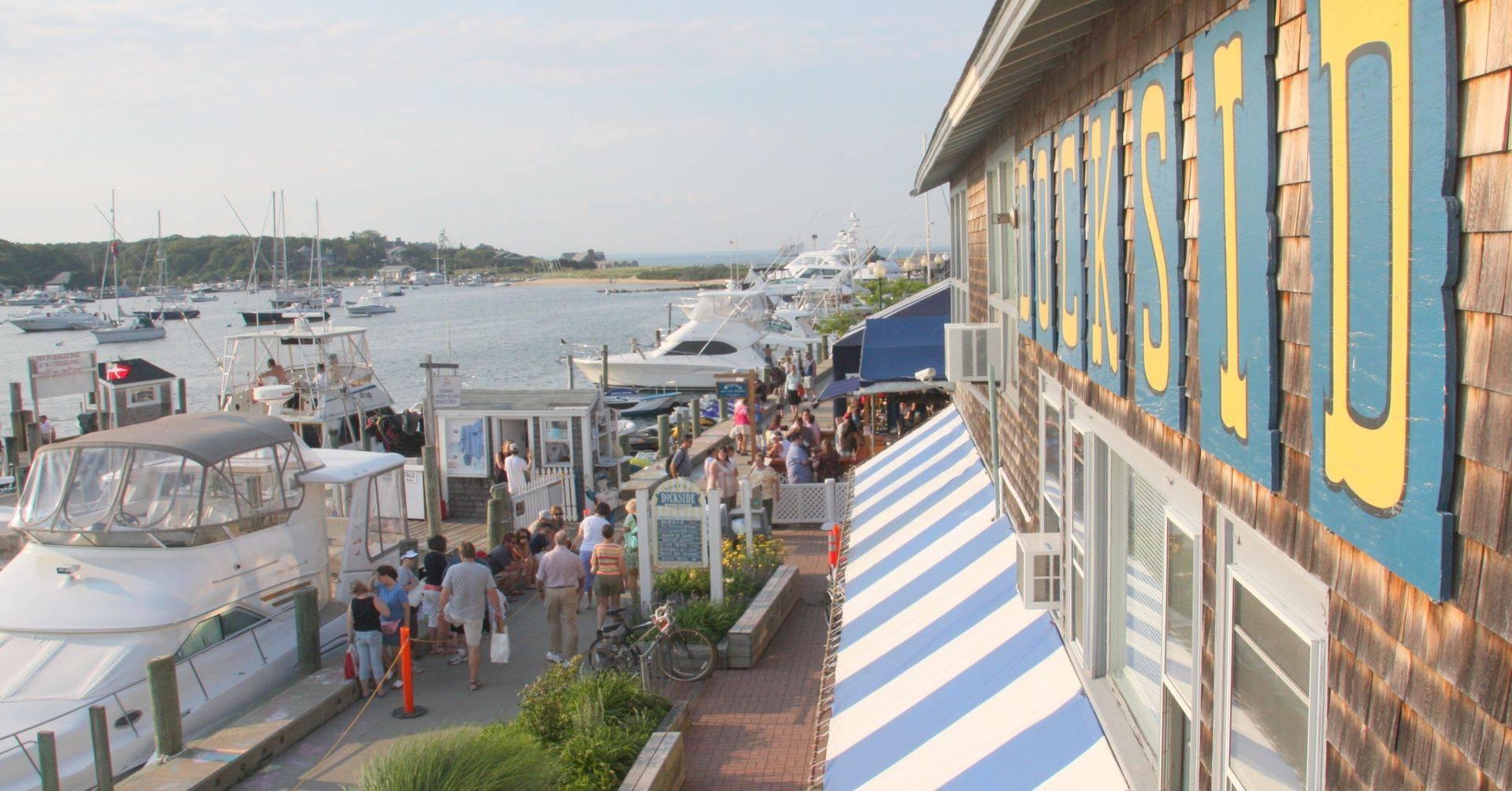 Waterfront dining, restaurants, Patio, Sunset