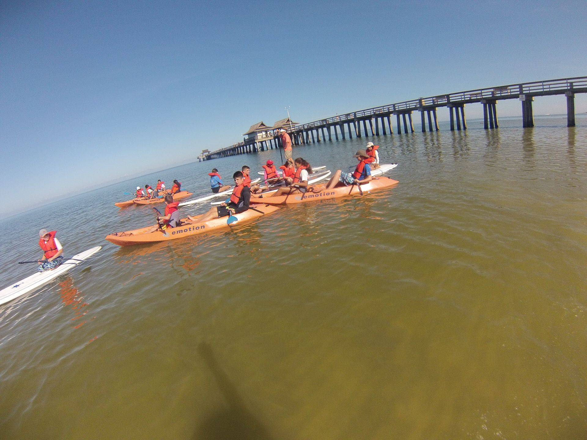 Naples FLORIDA kayak tours