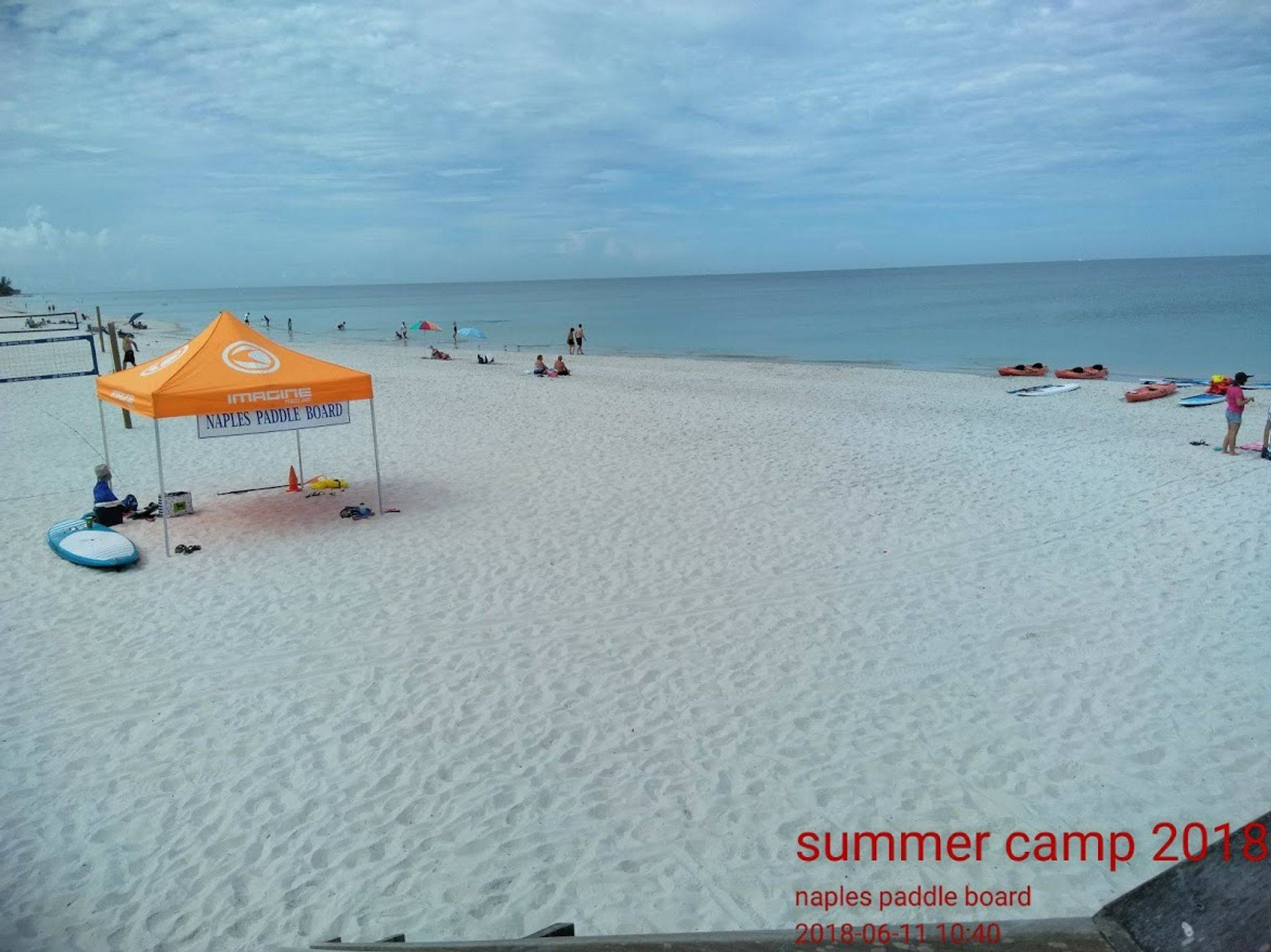 beach camp , weekend cam