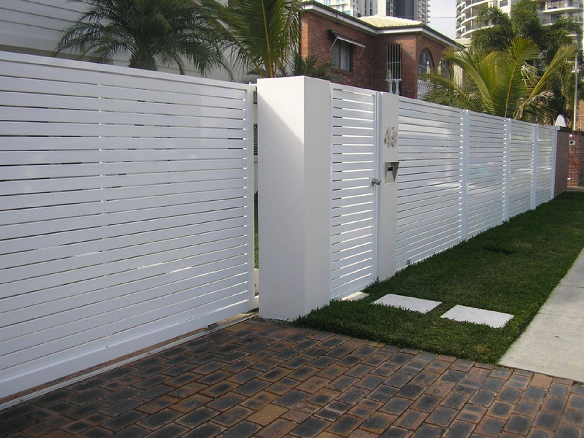 Front Fence Panels, Gold Coast