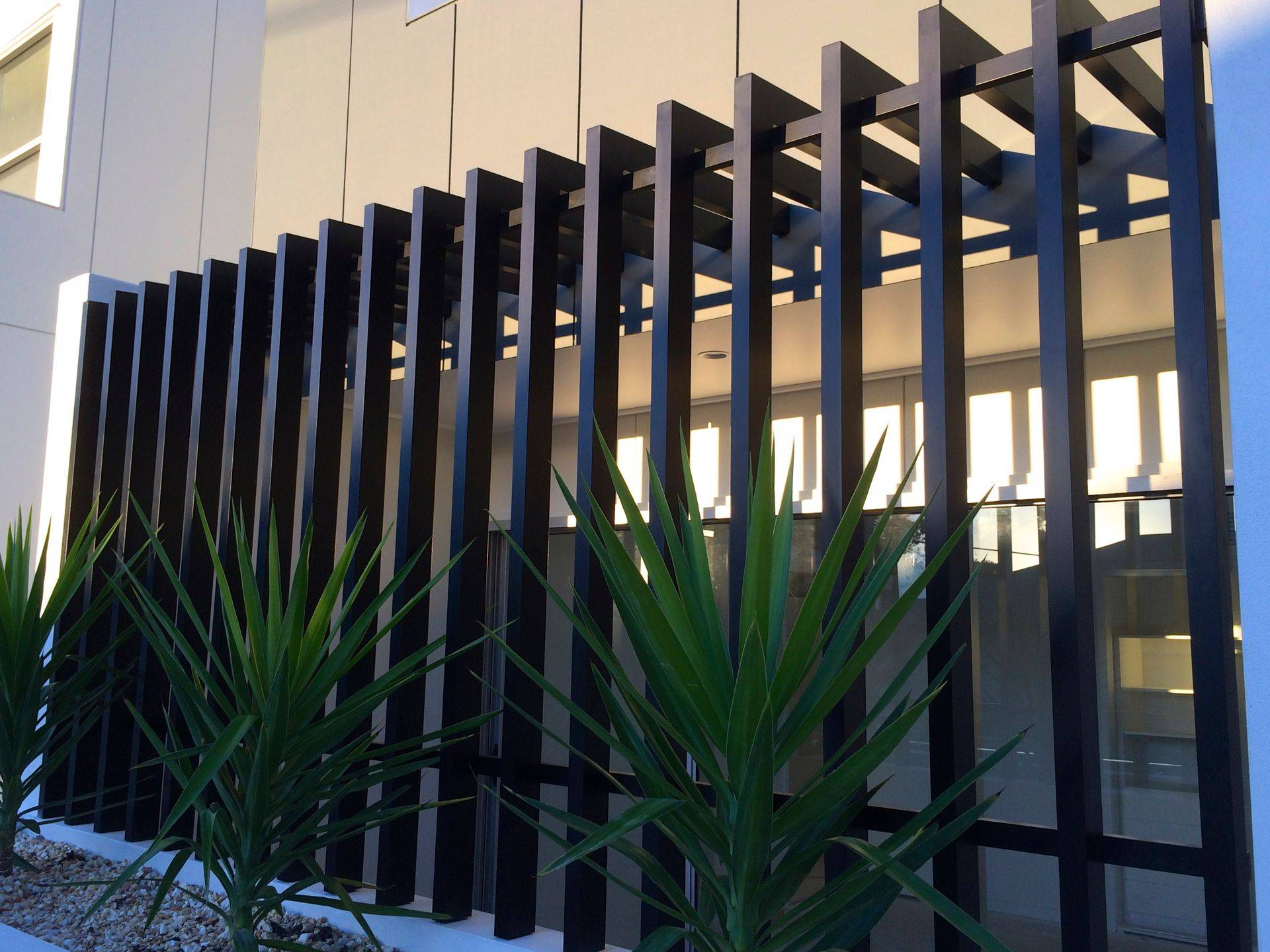 Architectural designed metal fabrication