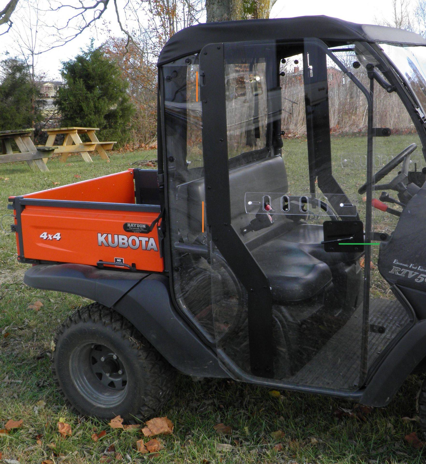 Kubota RTV 400 / 500  parts & accessories
