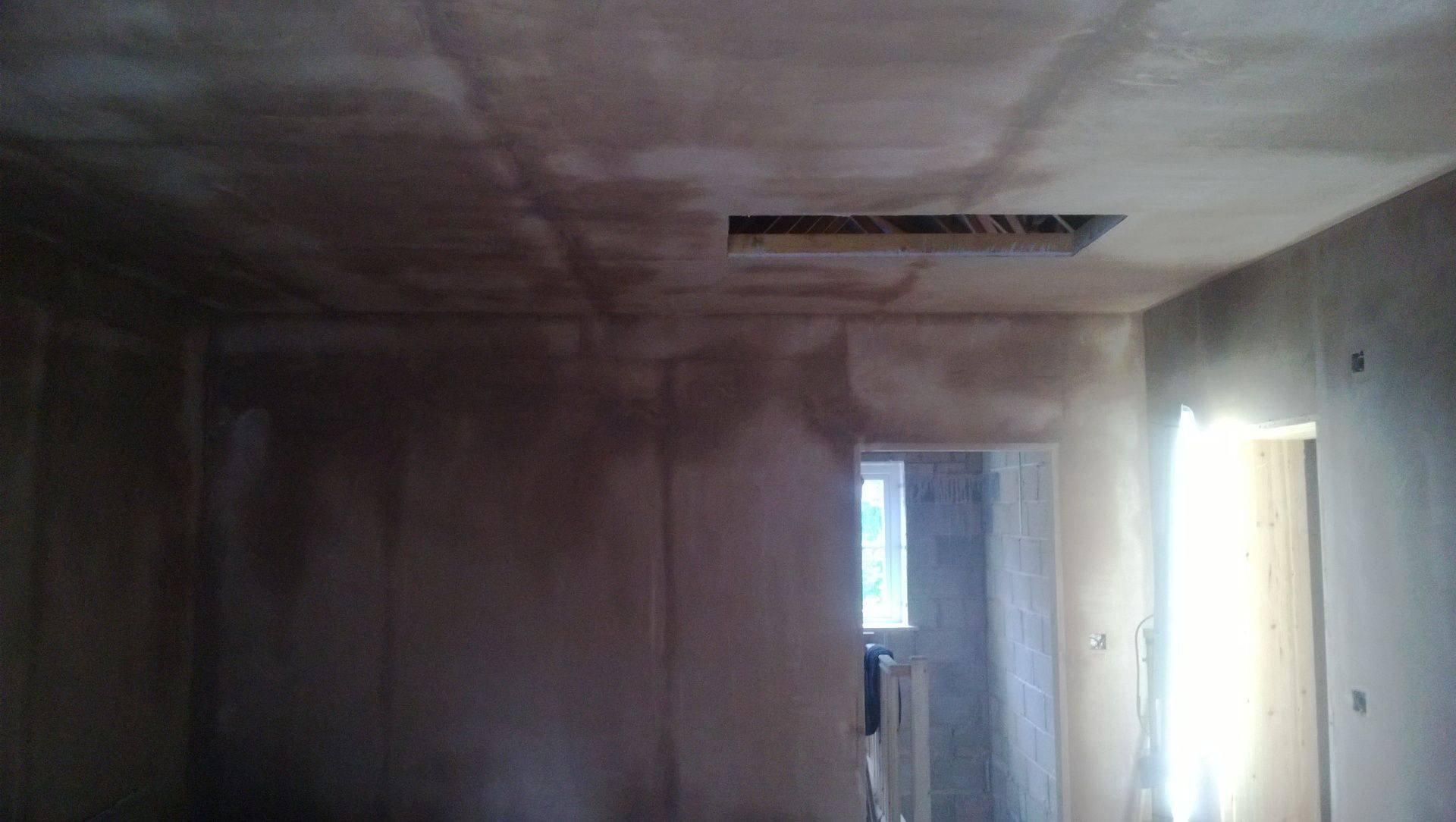 Dab and board and skim job in compton, wolverhampton