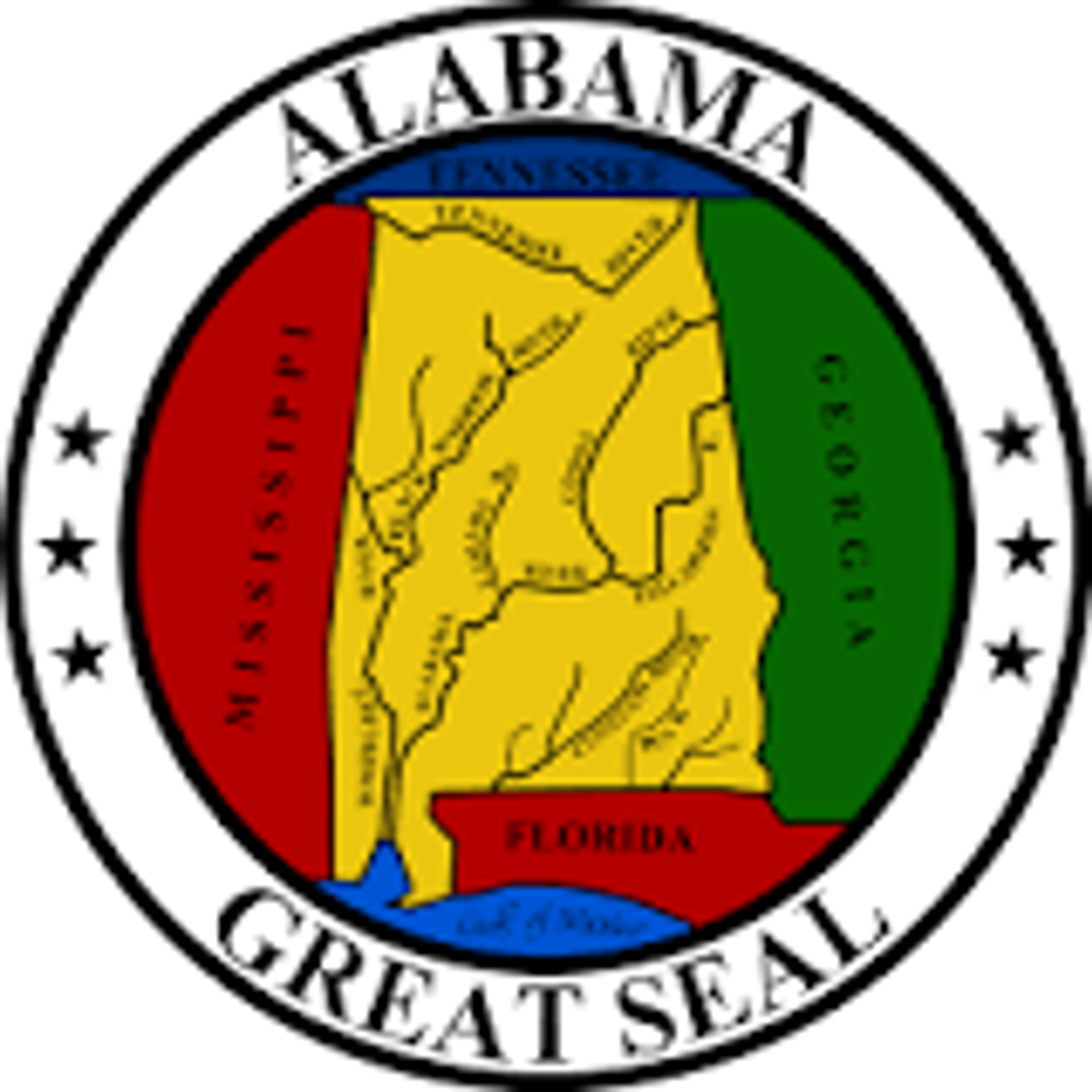 Piqua Shawnee Alabama State Seal
