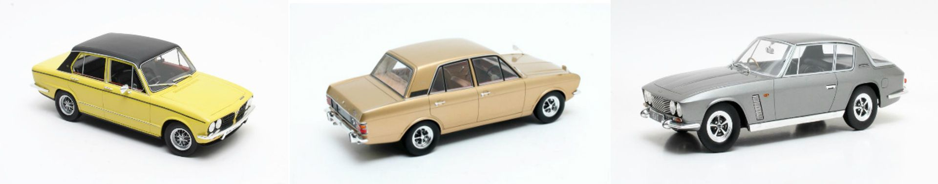 Diecast and Resin Models cars