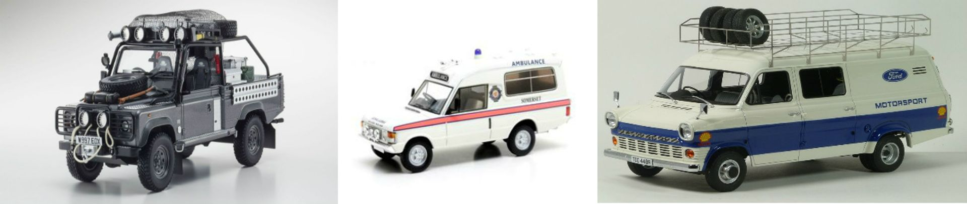 Diecast and Resin model Vans