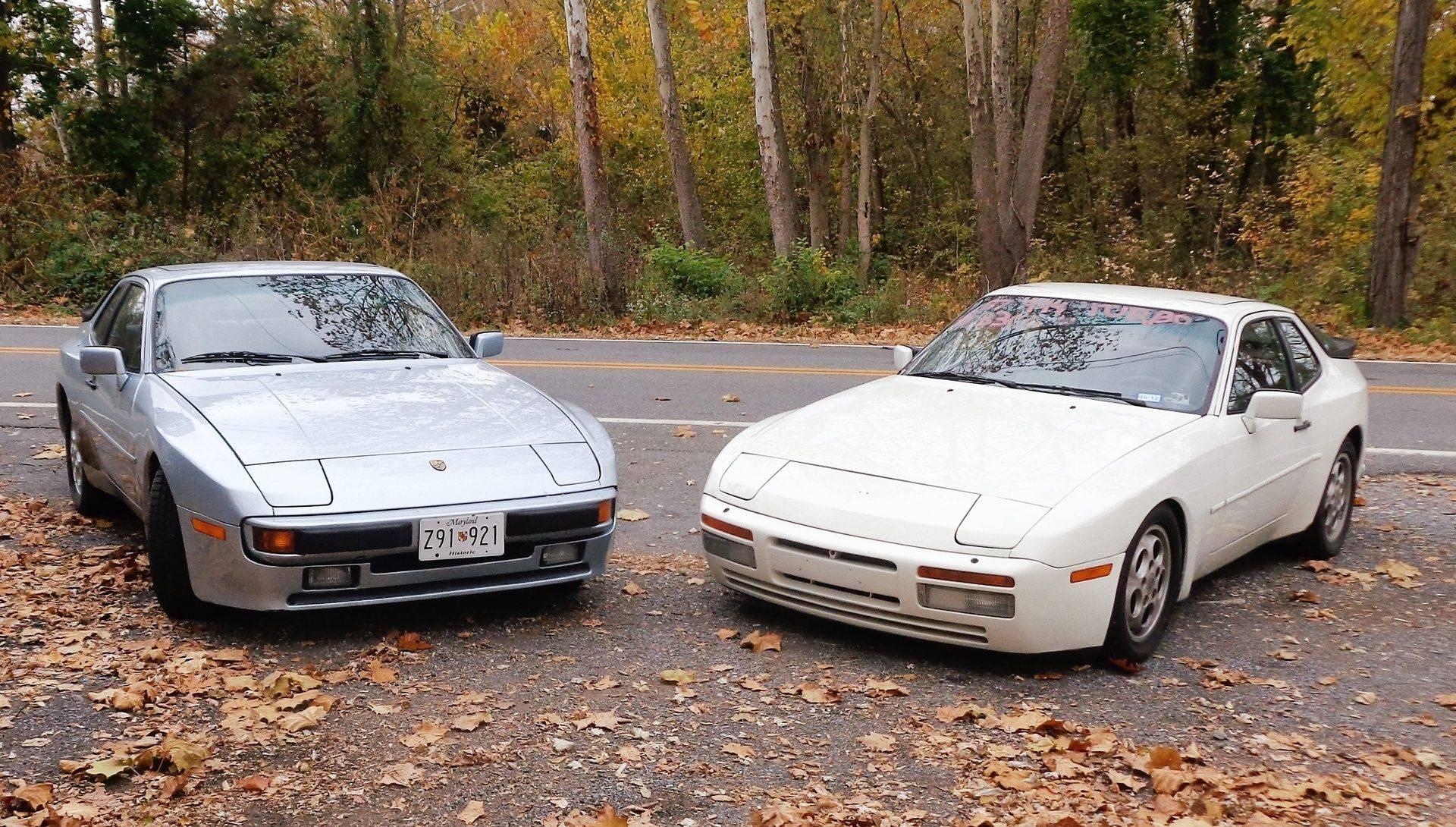 We know Porsche 944s