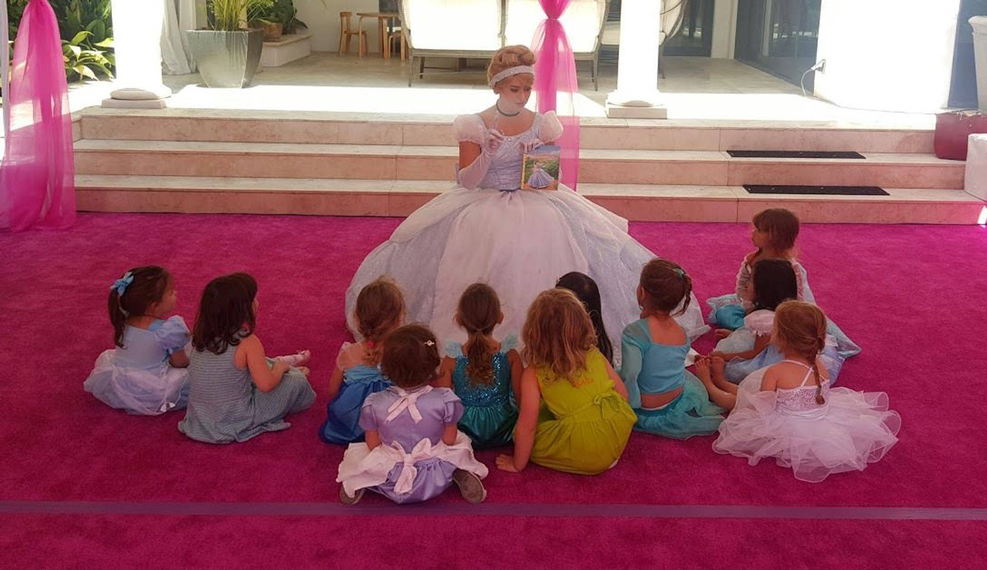 summer camp los angeles kids princess cinderella story time