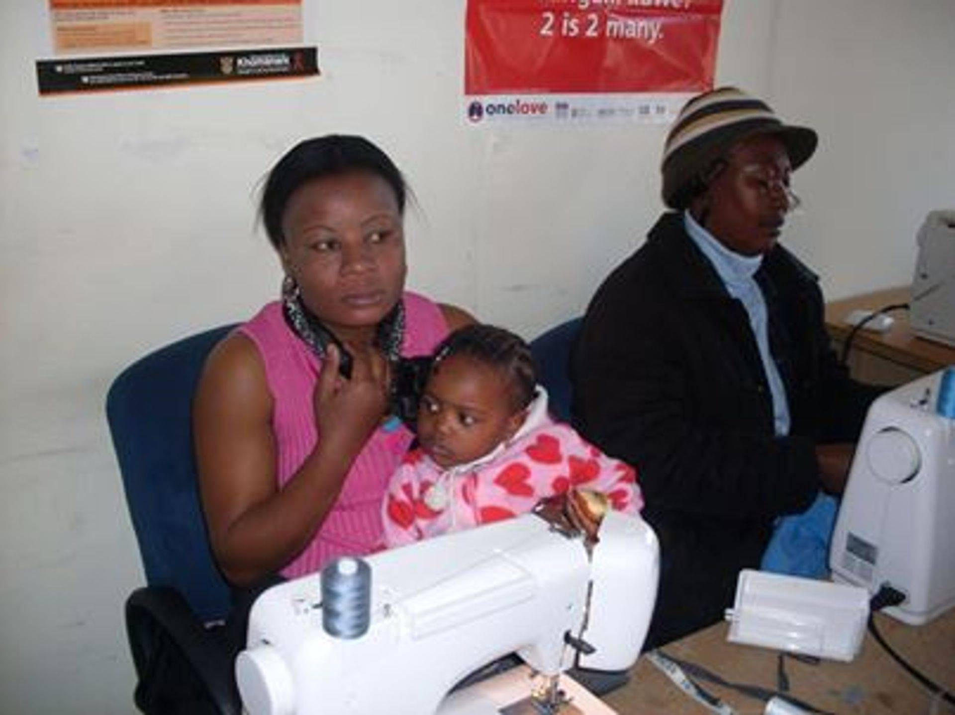 Mother and her Child at RCP Centre