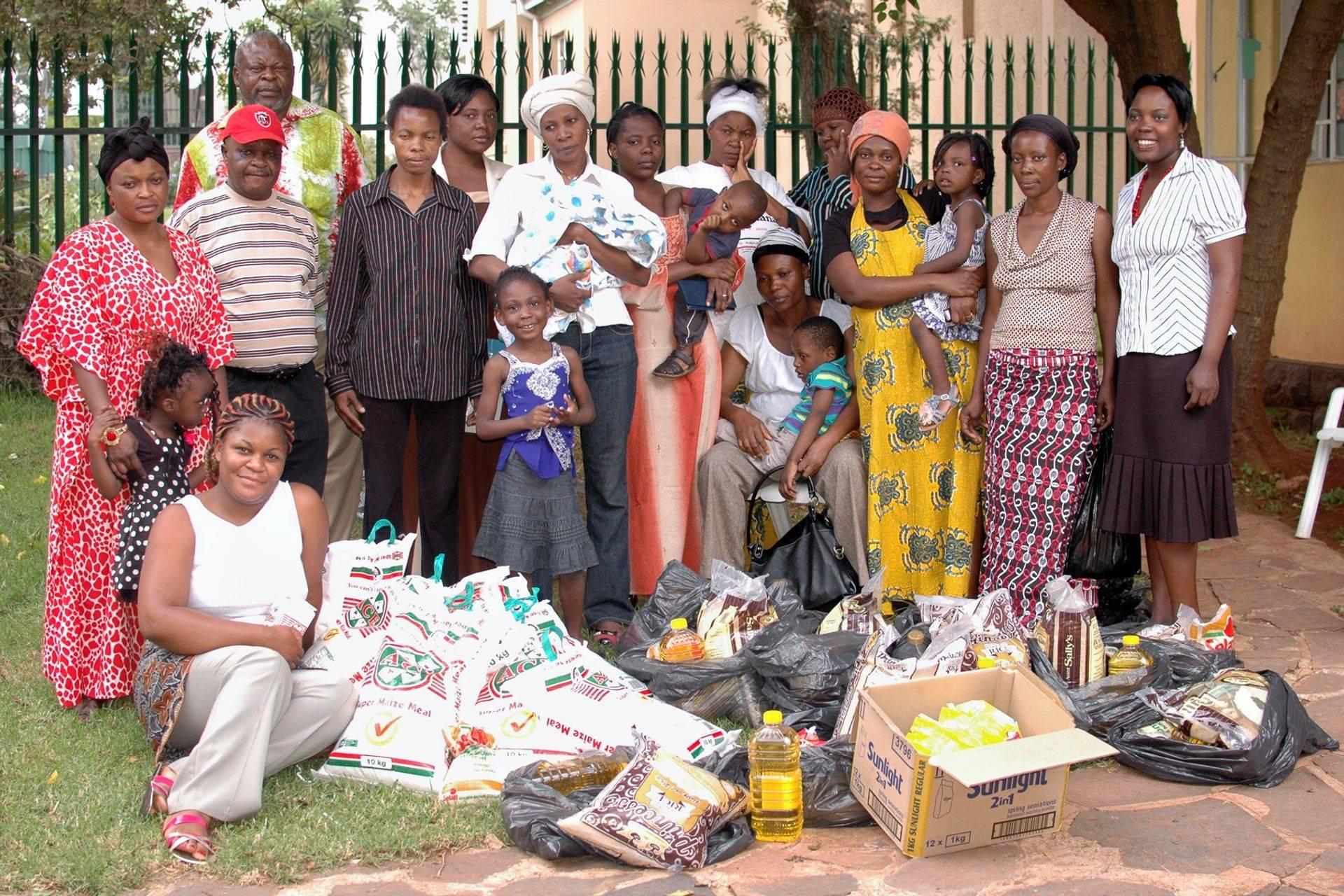 Food Distribution for refugee children