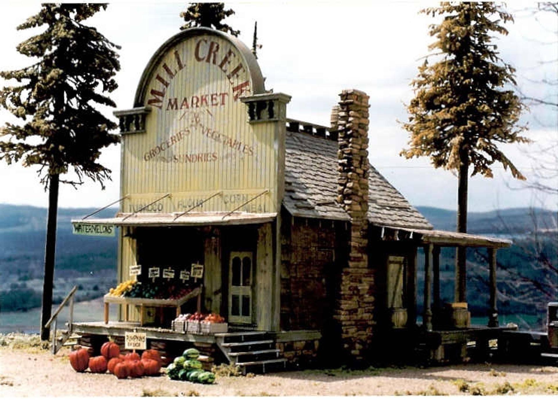 Mill Creek Arkansas, 1940's