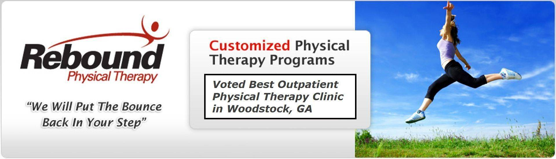 Rebound Physical Therapy Logo