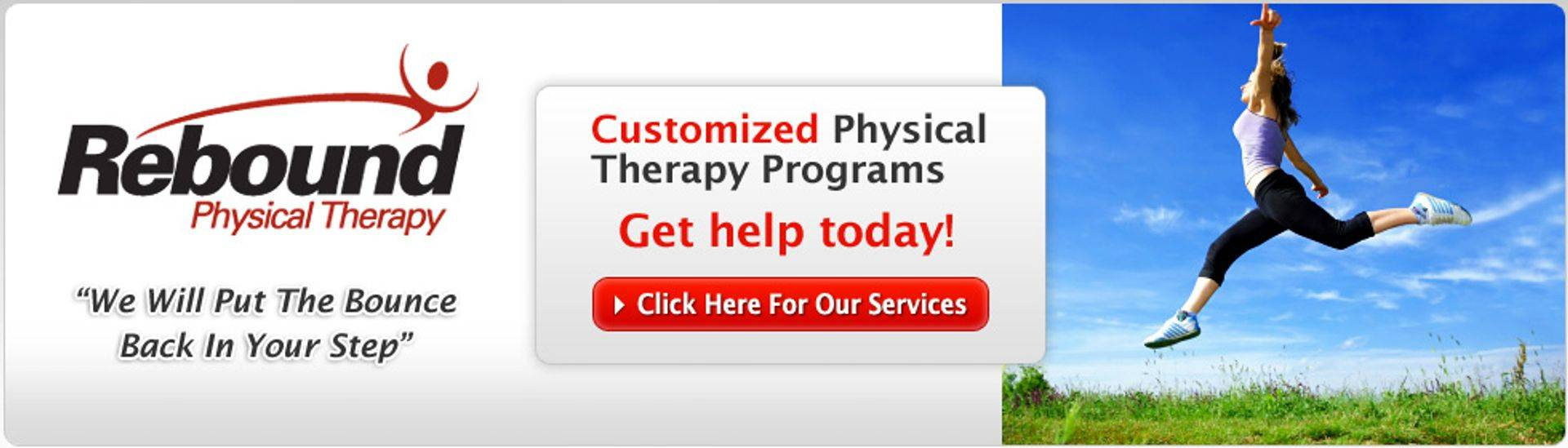 Rebound Physical Therapy Header