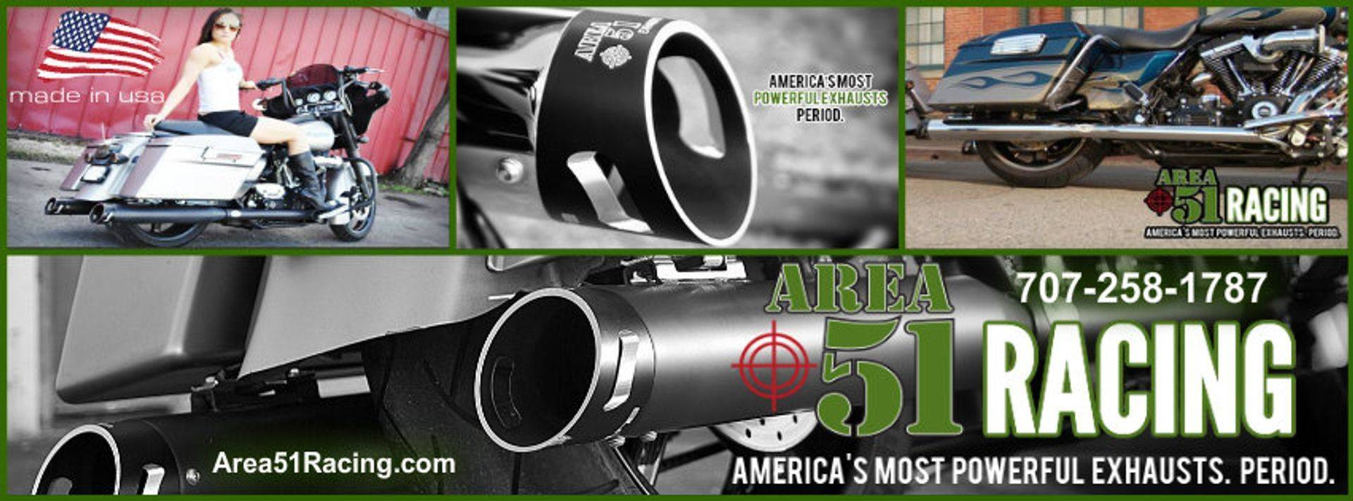 Area 51 Racing Motorcycle Exhaust