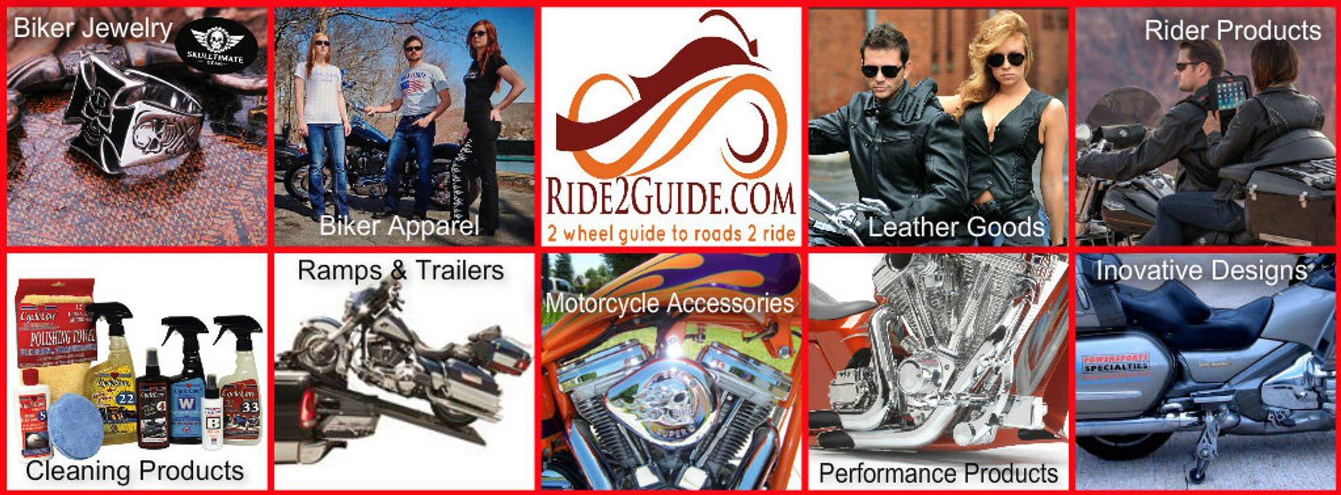 Motorcycle Accessories, Biker apparel, biker jewelry, motorcycle performance products and more.