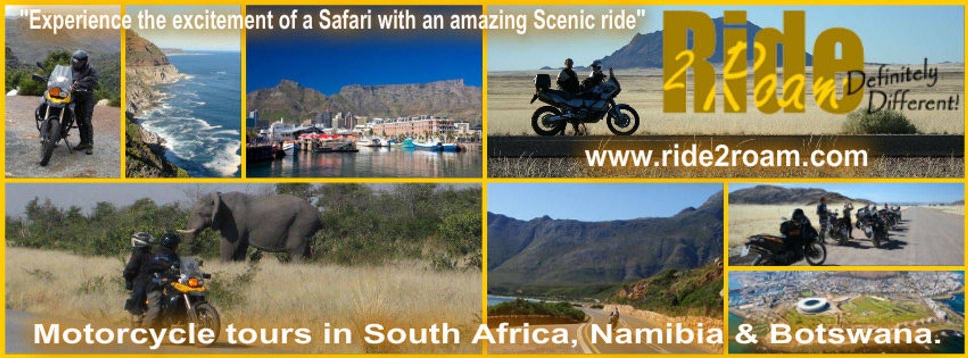 www.Rides2Roam.com Africa Motorcycle Tours