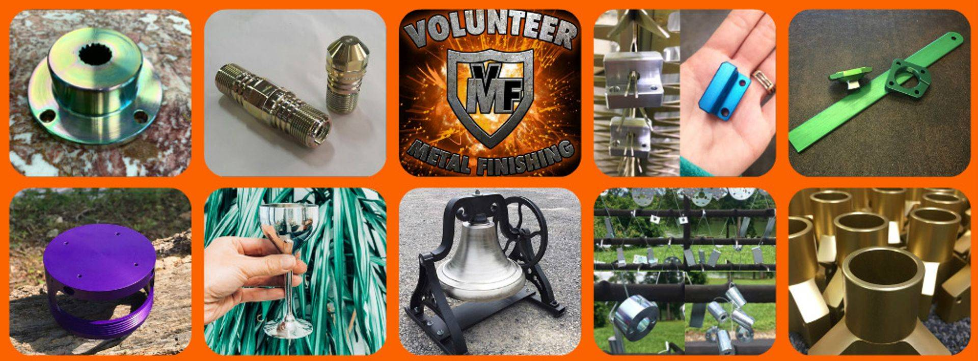 Volunteer Metals Powder Coating