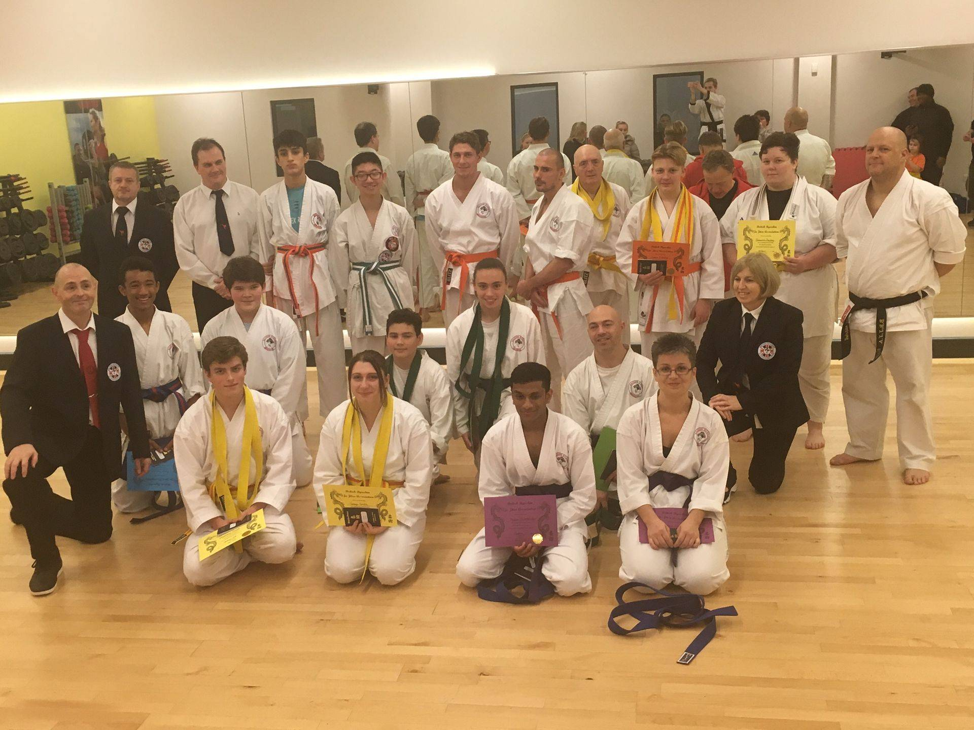 Ju Jitsu adult grading