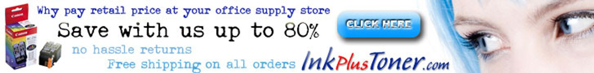 Ink Plus Toner discount pricing