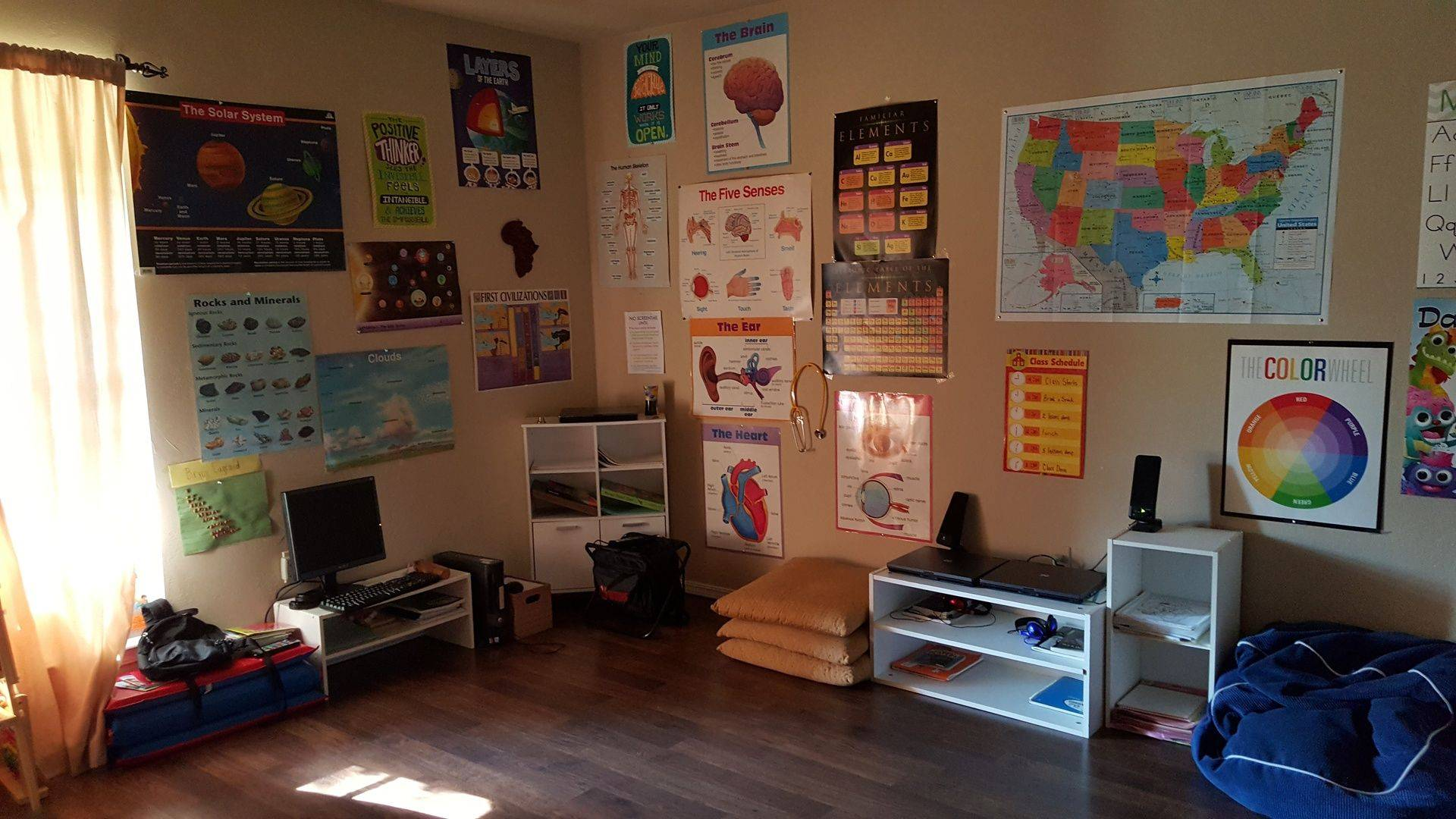 Our One Room Homeschool