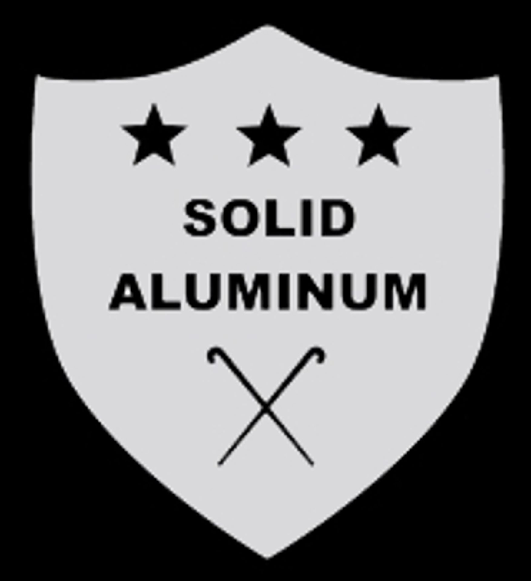 Made From SOLID Aluminum
