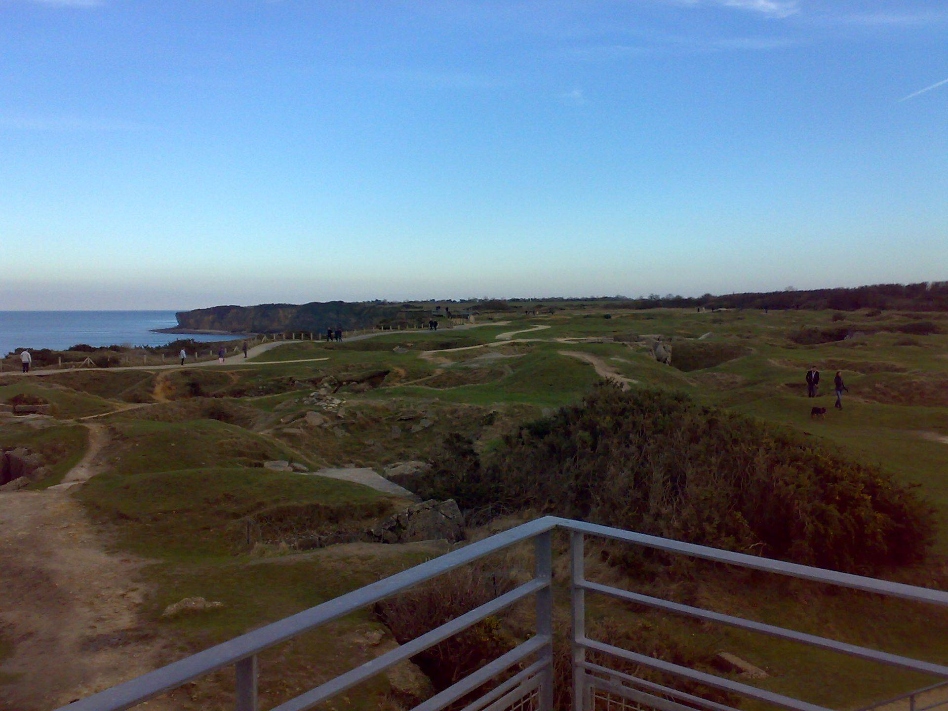 Pointe du Hoc , Normandy