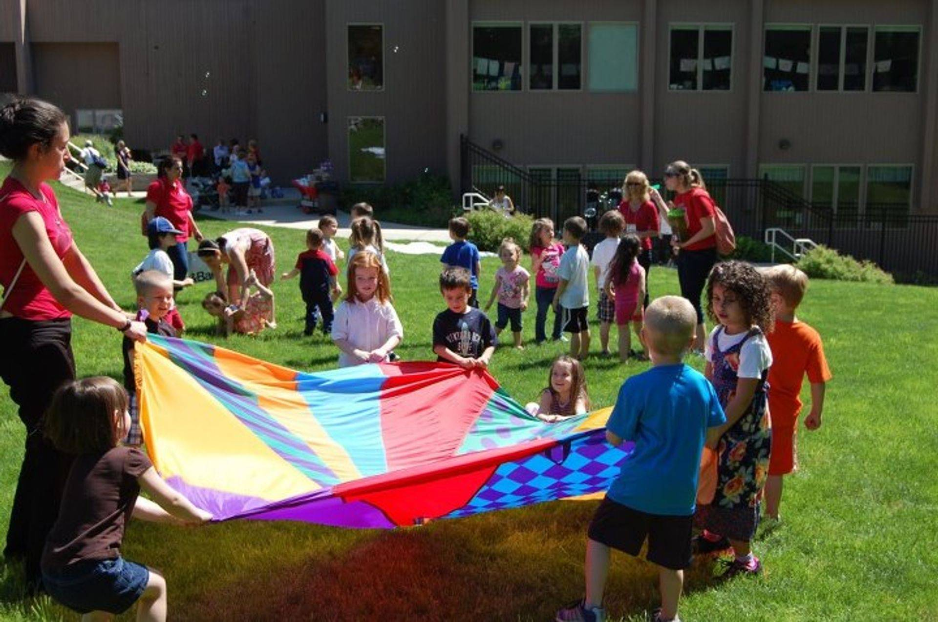 Early Childhood Center fun on the Great Lawn