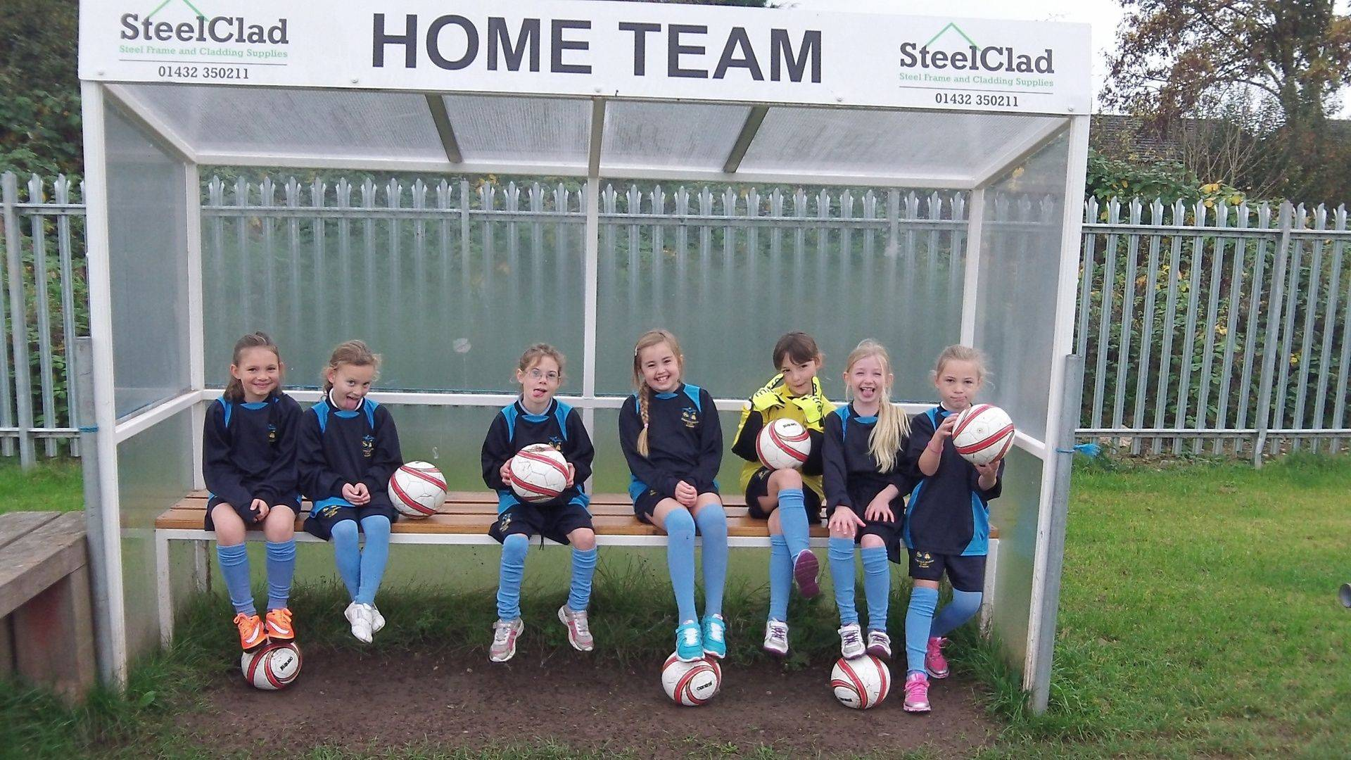 Girls football and sports at Stretton Sugwas Academy