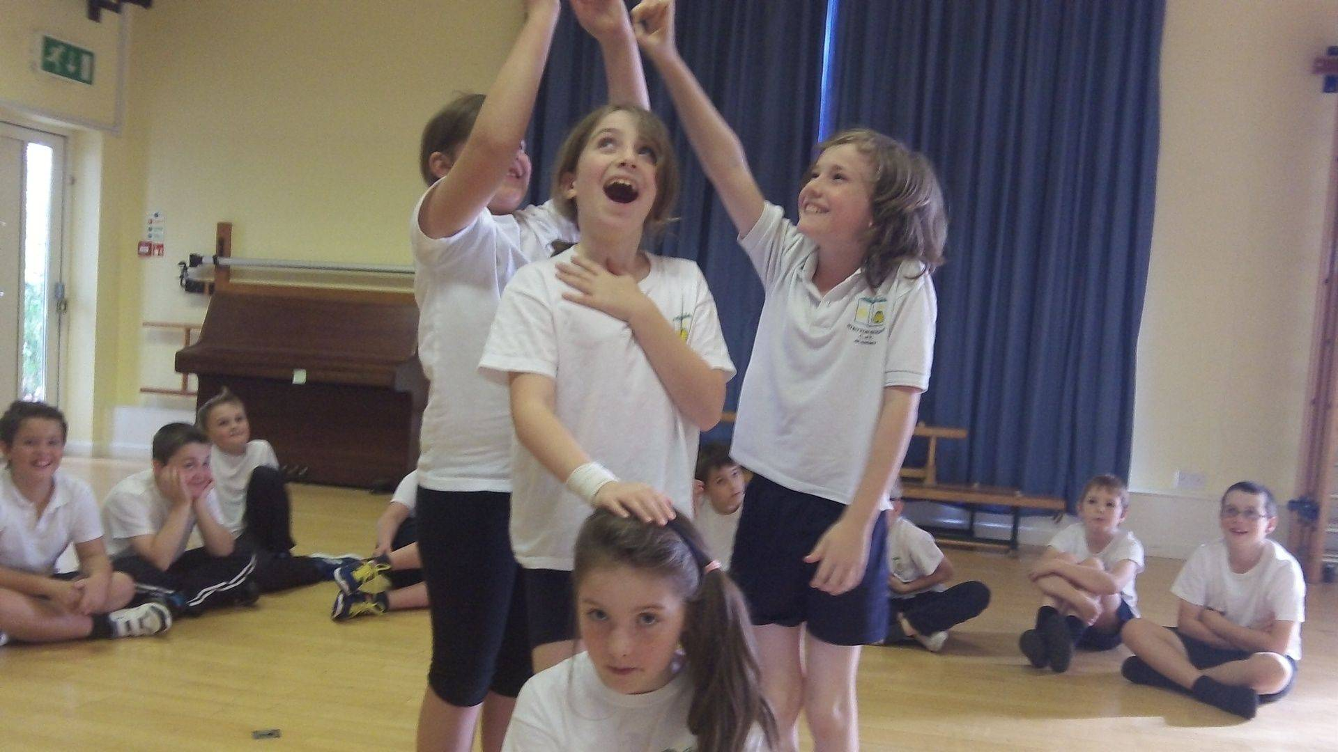Drama performances at Stretton Sugwas Academy