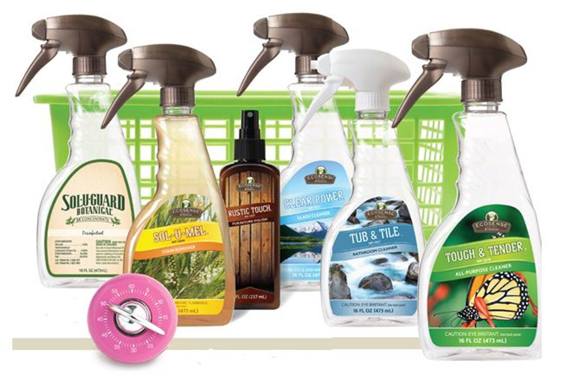 Melaleuca home cleaning products