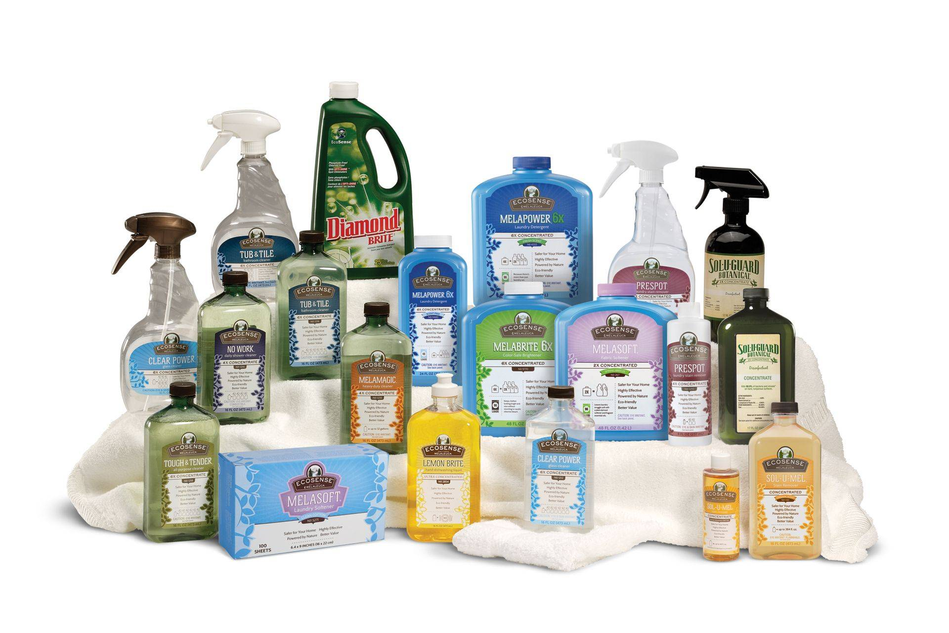 Our Natural line of Cleaning products-Melaleuca photo