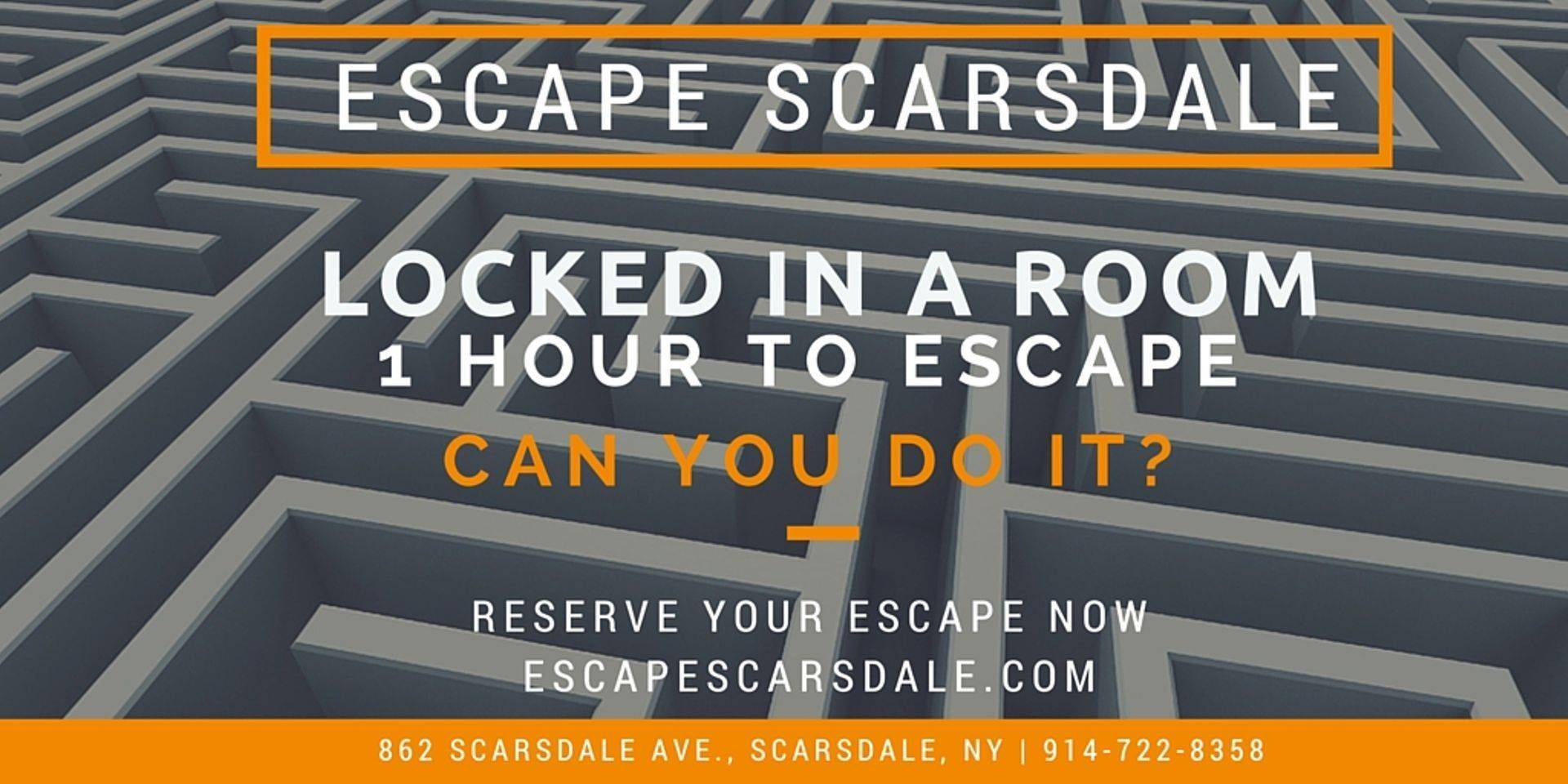 Escape The Room Scarsdale Center