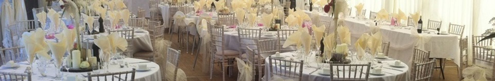 Formal and informal wedding receptions catered for
