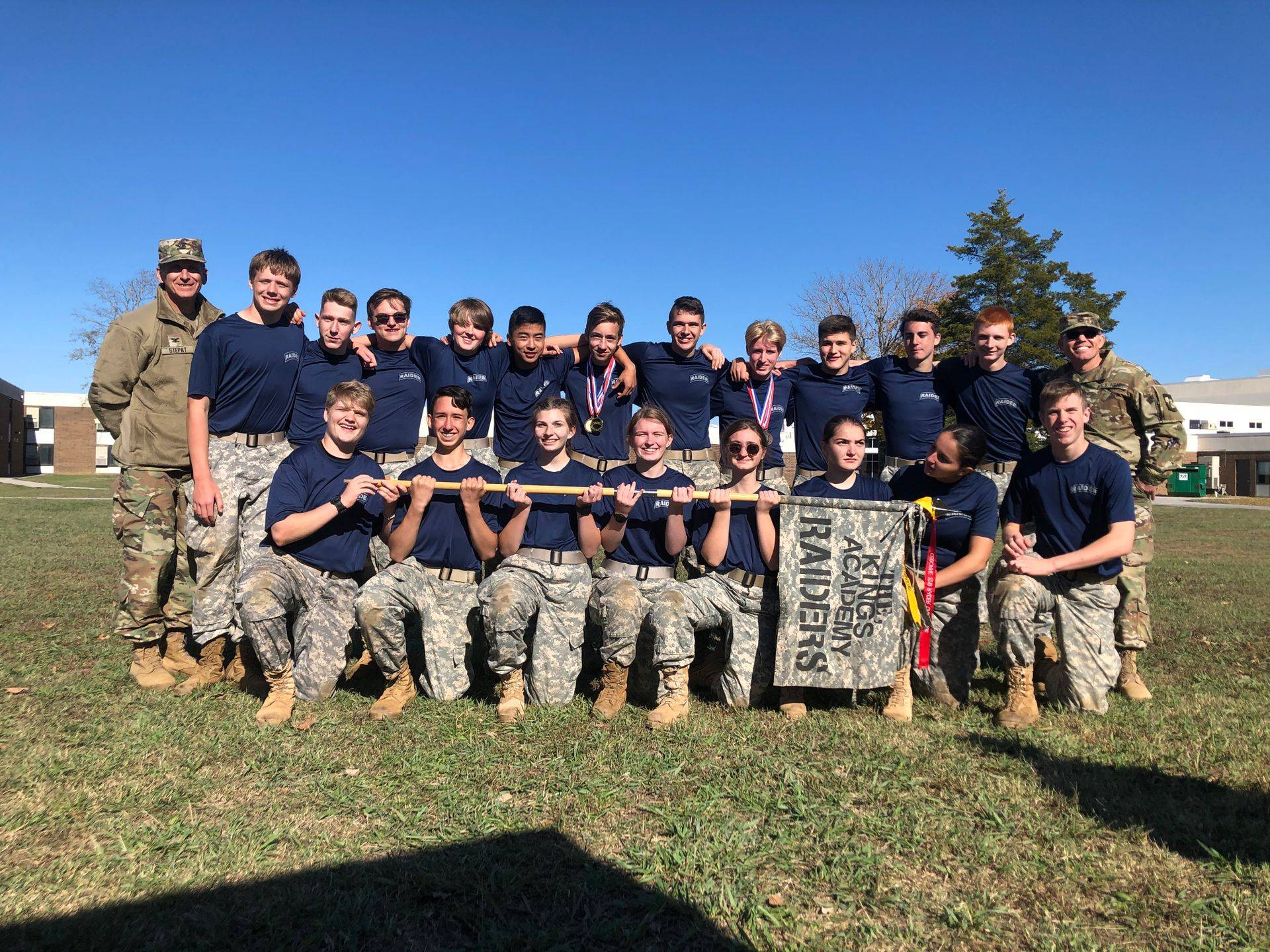 Cadets participate in various Raider events