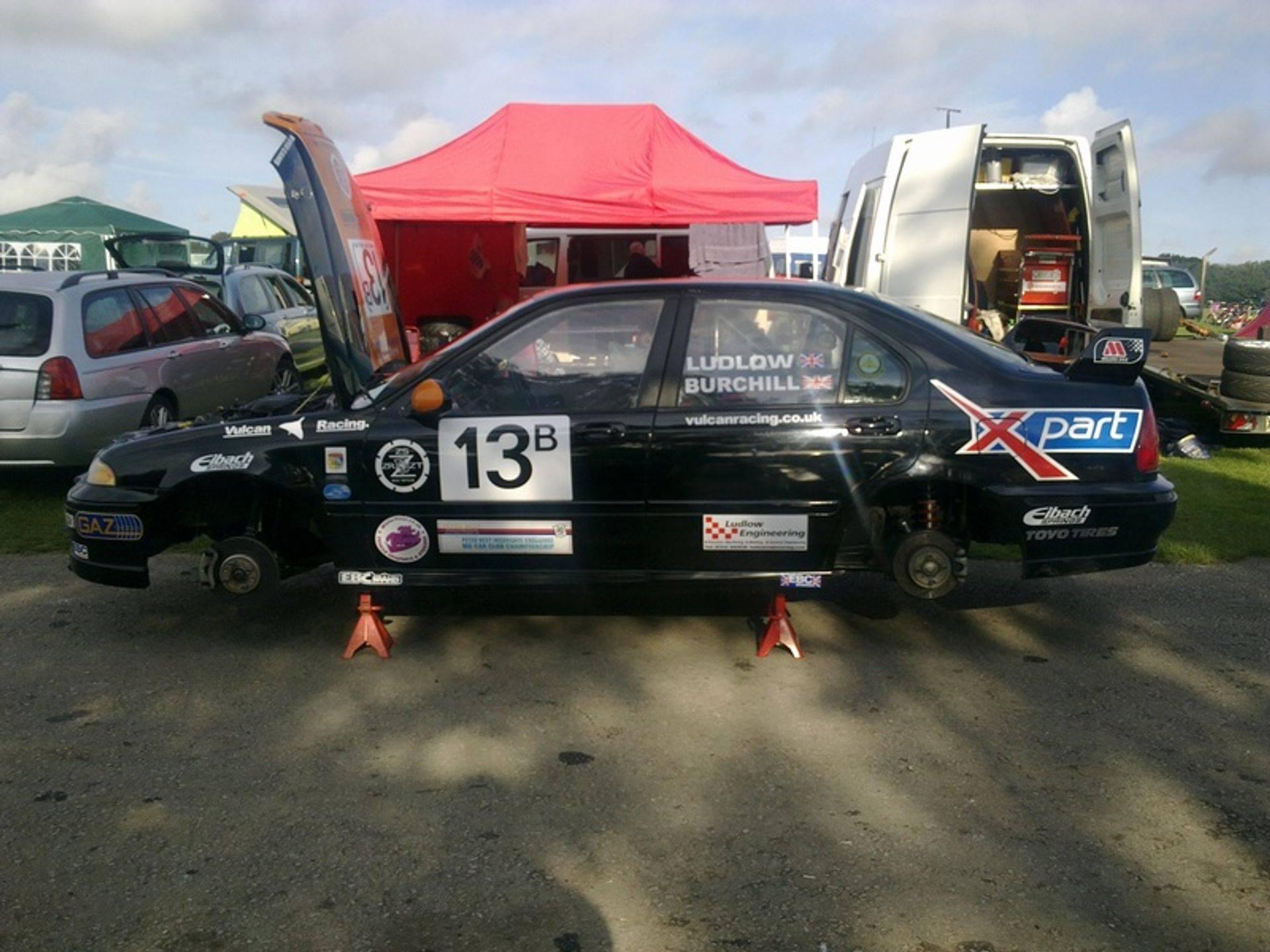 2010 Champions MGZS V6 Vulcan Racing Peter Burchill & Dan Luldow MGCC