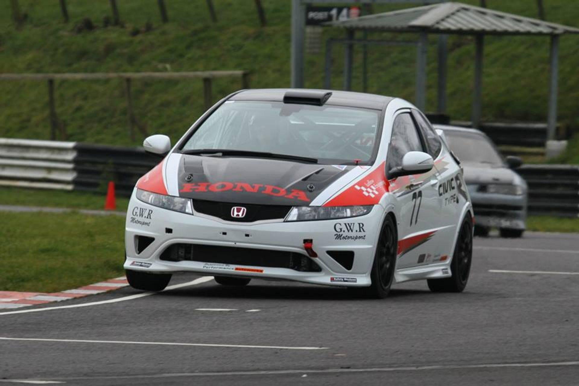 Honda Civic Britcar - Dan Ludlow Vulcan Racing Team