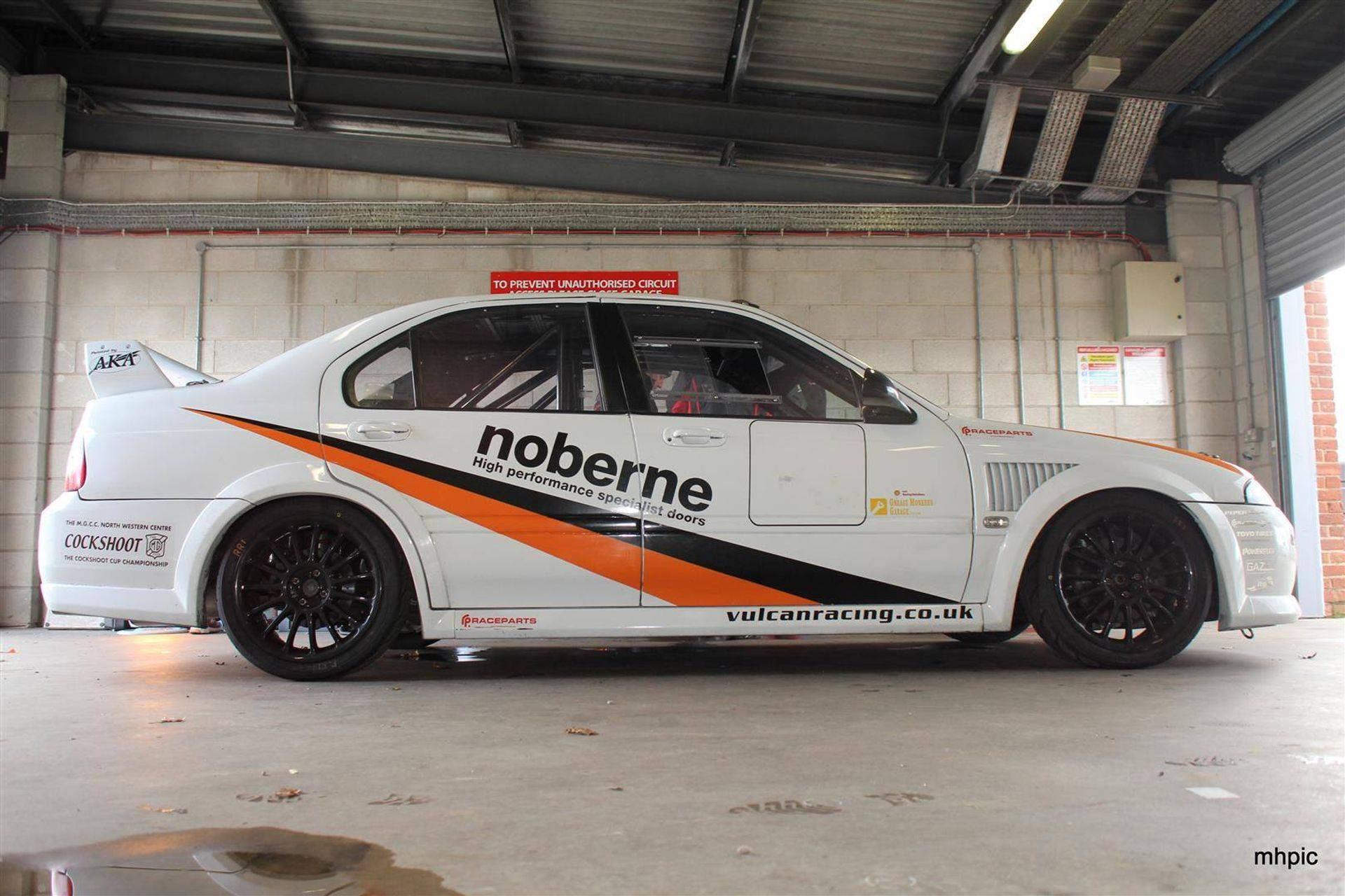 MGZS V6 180 Race Car Vulcan Racing Race Car - Oulton Park Testing