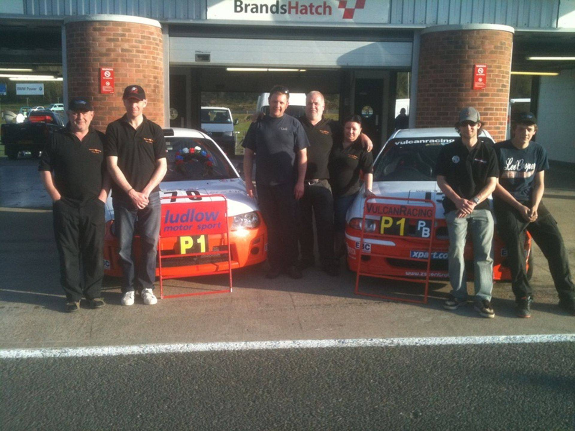 Vulcan Racing Team MGZS & MGZR Brands Hatch