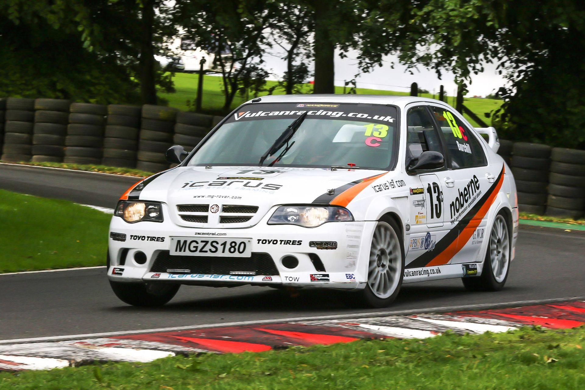 Cadwell Park Vulcan Racing MGZS