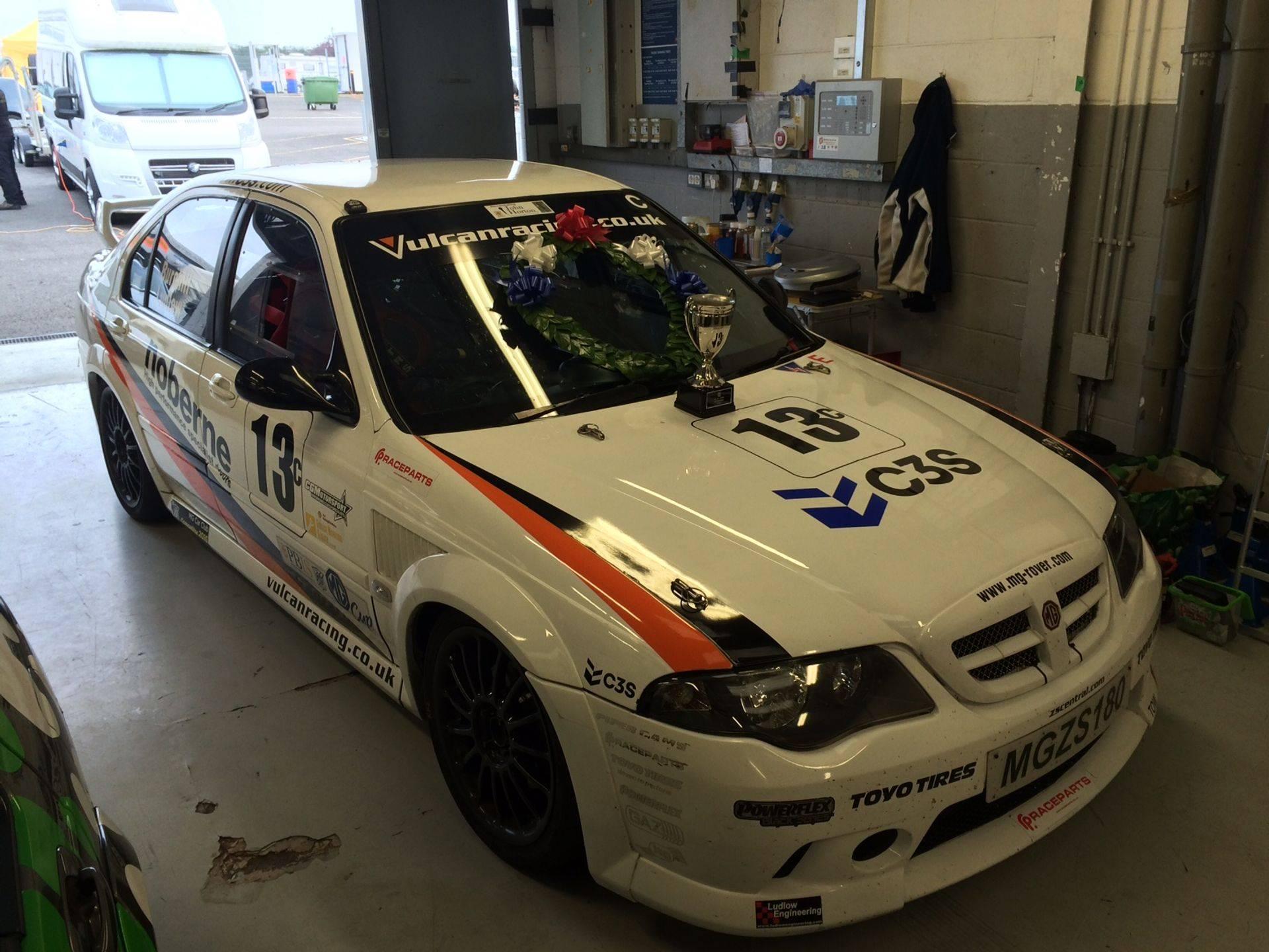 MGZS V6 180 Race Car Vulcan Racing Silverstone MG Live Peter Best Insurance Winner Dan Ludlow