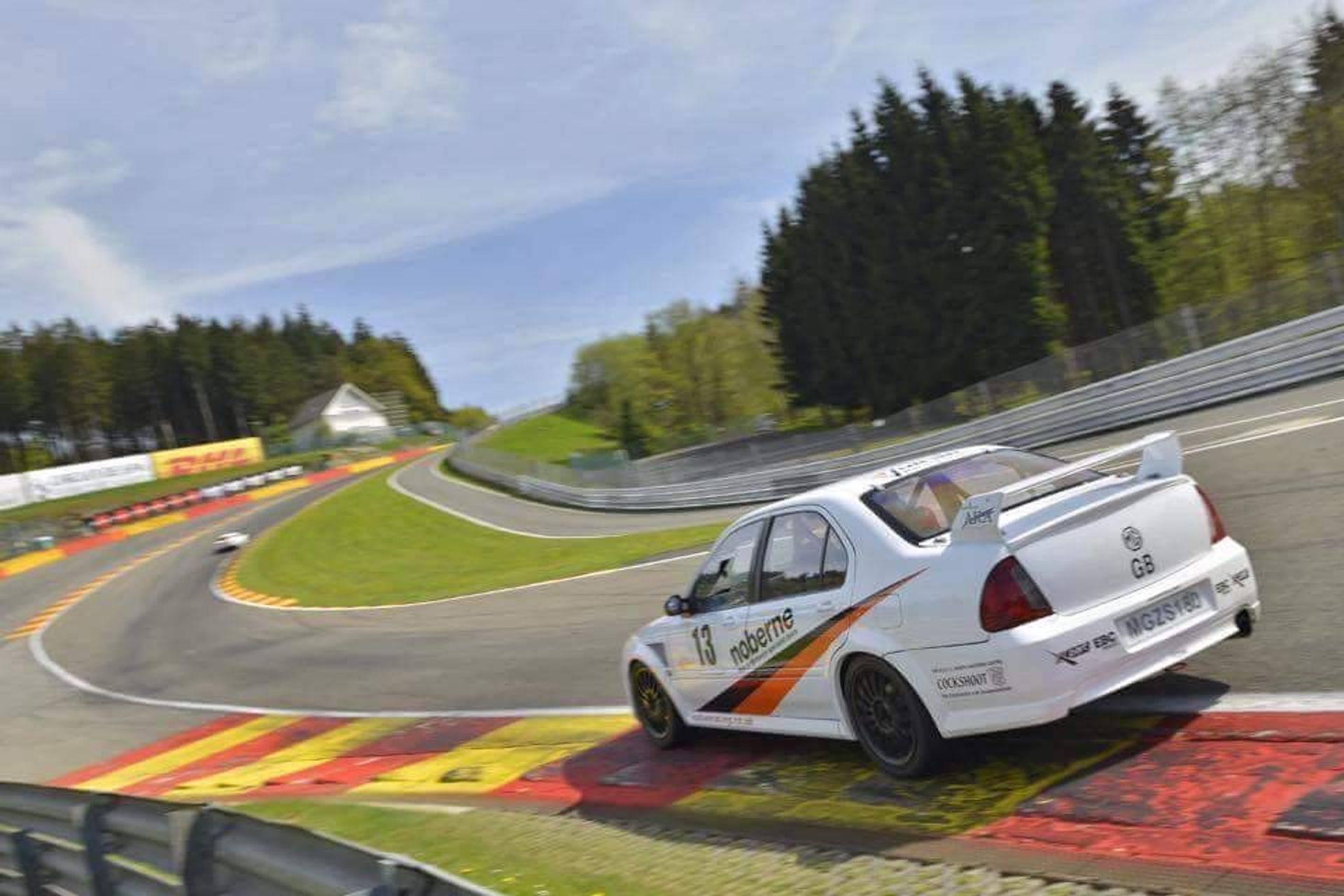 MGZS V6 180 Race Car Vulcan Racing SPA Peter Burchill