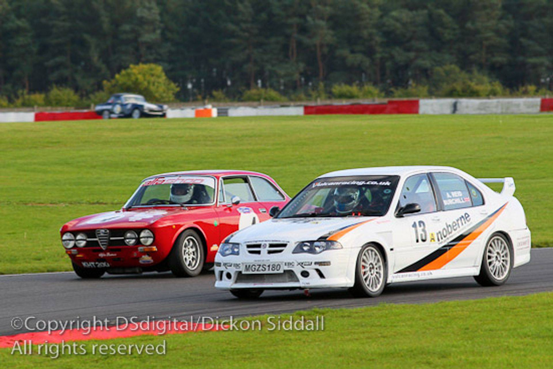 Vulcan Racing MGZS V6 2013 Season 4 hour endurance MGCC Peter Burchill