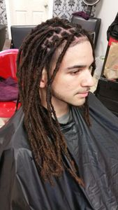 Bee has started his InstantLoc Dread Extensions over 4 years ago.  And the growth is amazing.  Double the length of when he first started.  Proven loyal client that continues to grow out his has of of today.