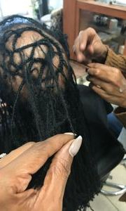 men clients can now skip the ugly stages and get dreadlocks permanently today with Braids By Bee InstantLoc Dread Extensions.