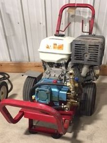 Cold on cart pressure washer